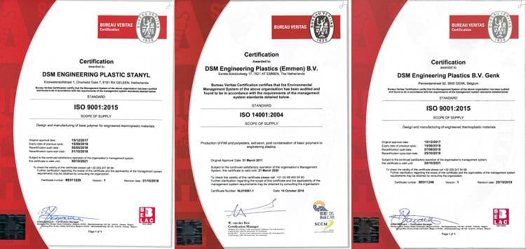 certyfikat dsm