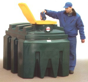 zbiorniki na zużyty olej
