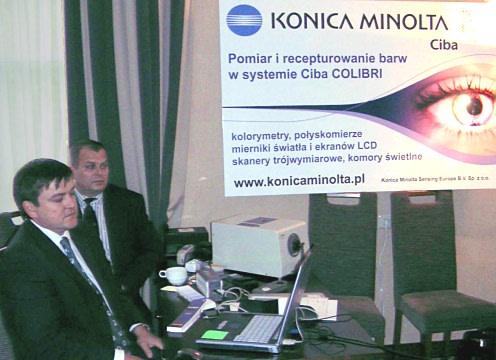 """Seminarium """"Kolor na życzenie"""" firmy Konica Minolta"""