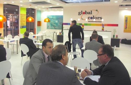 Global Colors na targach K2007
