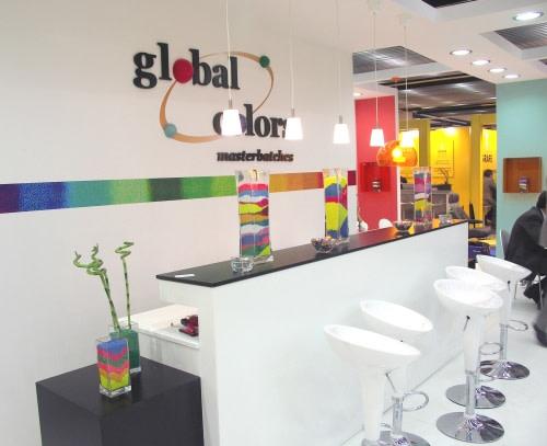 firma Global Colors na targach K2007