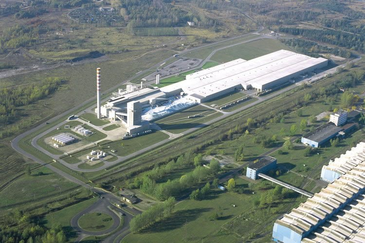 Glass plant in Poland