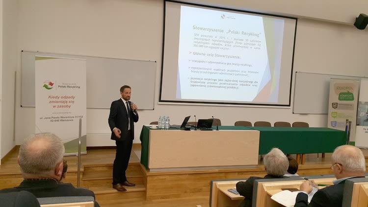 Szymon Dziak-Czekan, Stowarzyszenie Polski Recykling