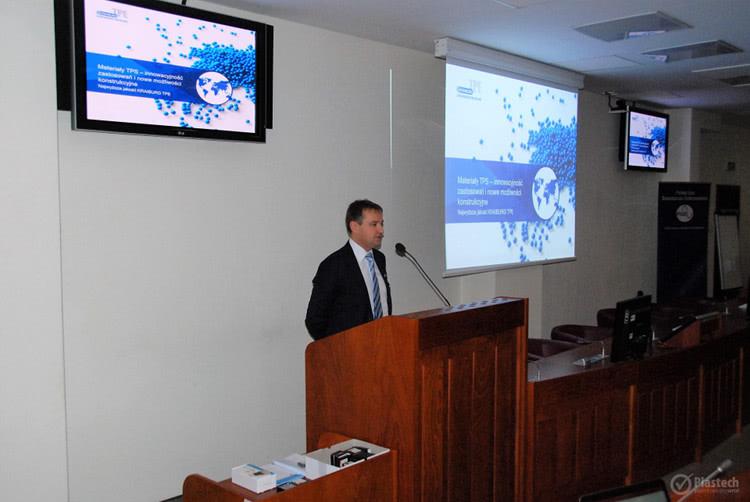 Maciej Duszczyk z firmy KRAIBURG TPE
