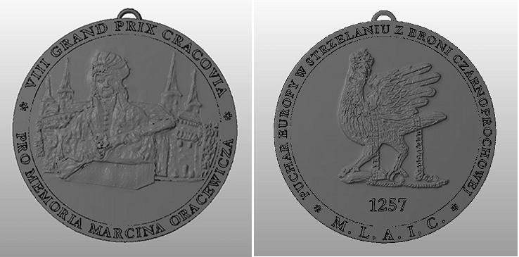 Model STL medalu
