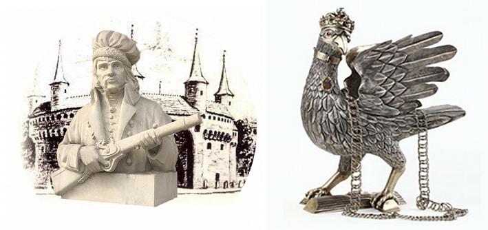 figurka marcian Oracewicza, Figurka Srebrnego Kura
