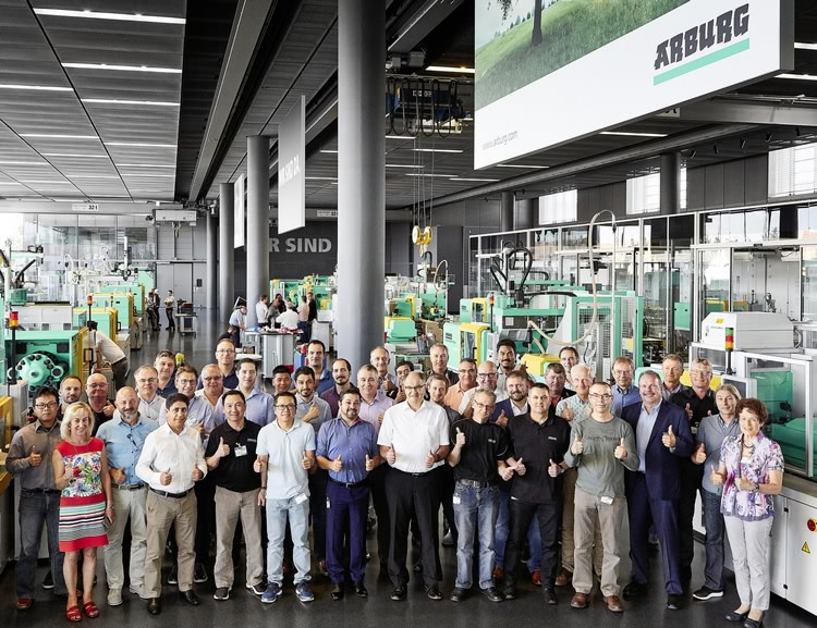 Arburg service meeting 2018