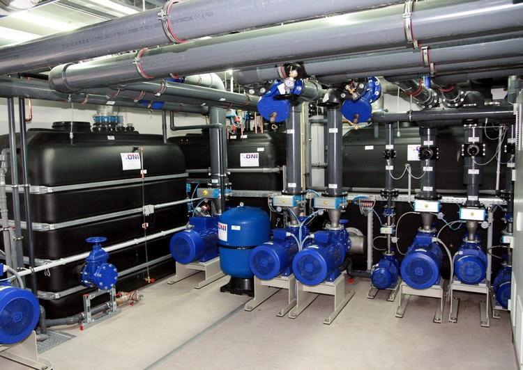 Centrala techniczna systemu chłodzenia