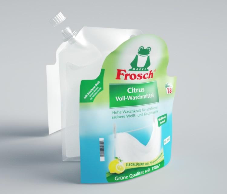 Frosch - Verpackung