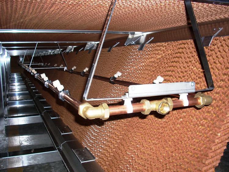 Chłodnia wentylatorowa 3DK z zamkniętą komorą adiabatyczną