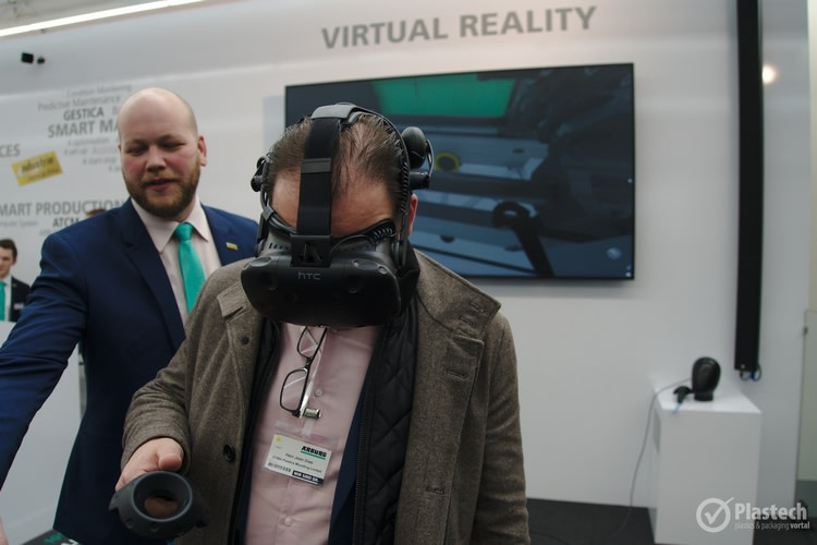 Arburg virtual reality