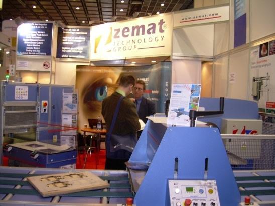 Firma Zemat na targach interpack 2008