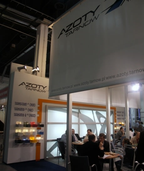 Zakłady Azotowe Tarnów na targach Plastpol 2008
