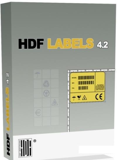 HDF Labels 4.2 - Nowa wersja programu do projektowania etykiet