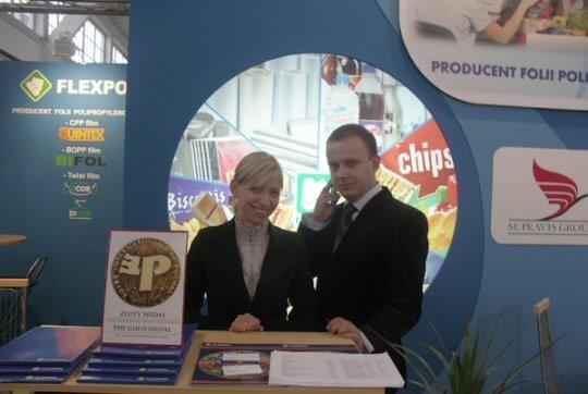 Stoisko firmy Flexpol na targach Taropak 2008