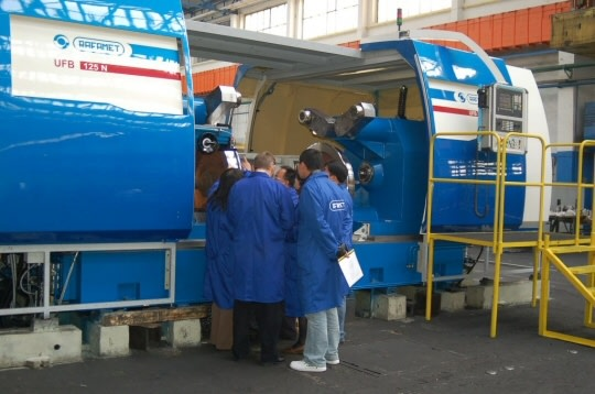 Maszyna firmy Rafamet
