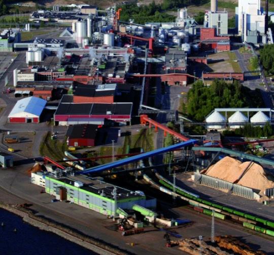 Stora Enso - plant in Uetersen, Germany