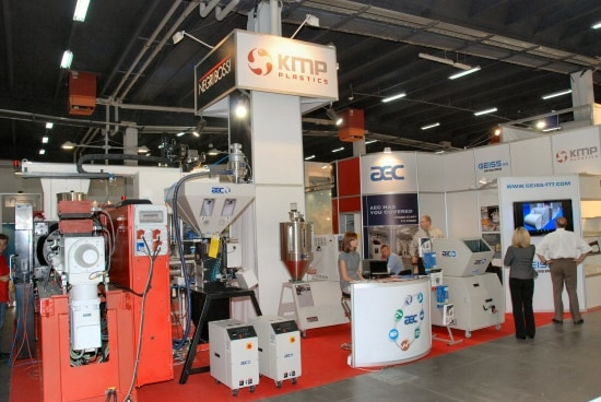 Stoisko firmy KMP Plastics na targach Plastpol 2009