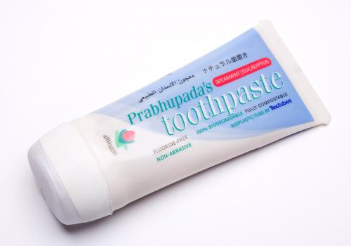 First biodegradable toothpaste tube
