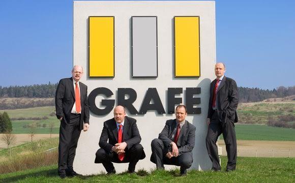 Na zdjęciu bracia Grafe: Clemens, Christian, Michael i Matthias.