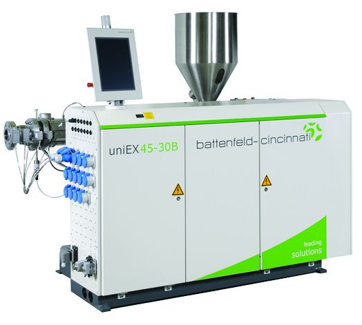 New all-round extruder for pipes and profiles