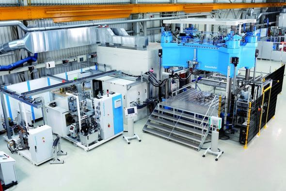 Machine and process know-how along the entire process chain for composites