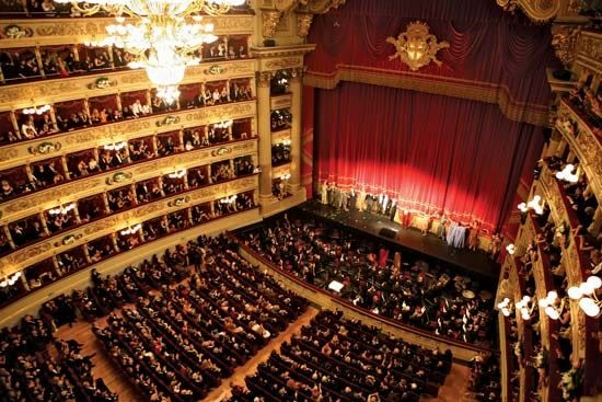 LA Scala, Mediolan