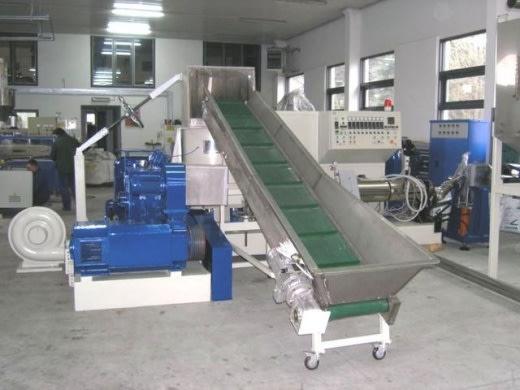 Linia do granulacji tworzyw sztucznych firmy Pol - Service Majcher