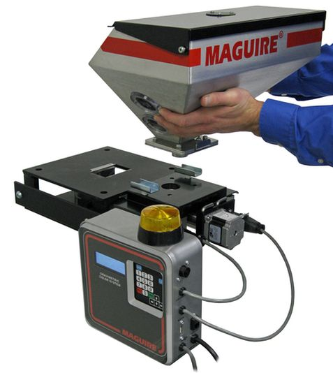 Low-cost gravimetric feeder gets a big boost in accuracy and throughput