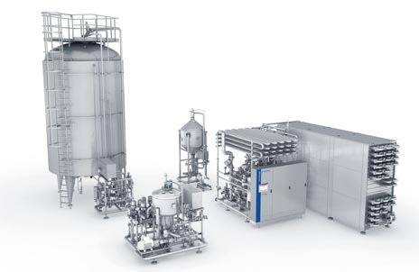 Krones' single-flow pasteuriser concept for the low output range