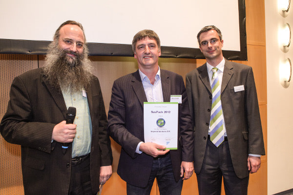 Imperial Ventures winner at SusPack 2012