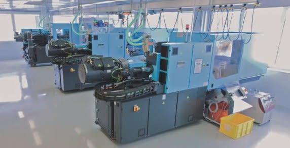 Najnowsze wtryskarki firmy Sumitomo (SHI) Demag z serii IntElect oraz El-Exis wykorzystane zostały do produkcji sprzętu medycznego i elementów gospodarstwa domowego.
