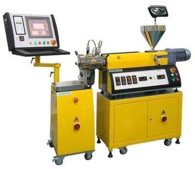 Skomputeryzowany test filtracji z pompą zębatą LFT34-GP z 20 mm wytłaczarką typ LE20-30/C