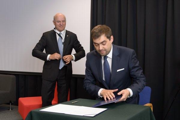 Tomasz Zieliński (PIPCh) i Paweł Olechnowicz (CEEP)