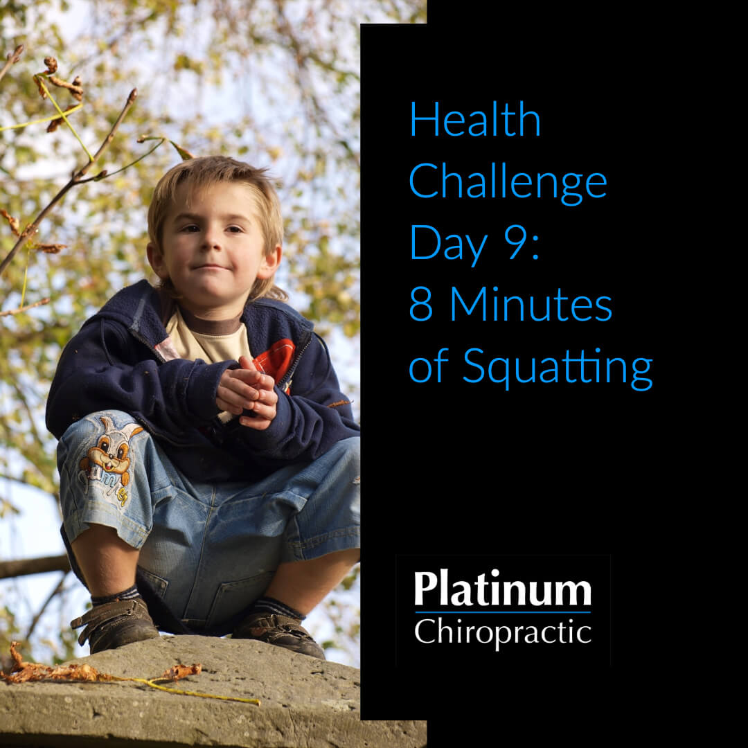 Platinum Health Challenge Day 9: 8 Minutes of Squatting