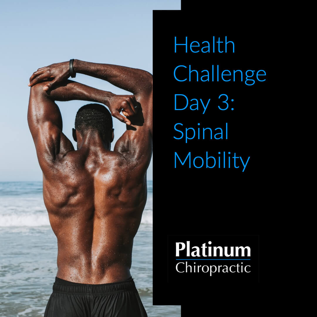 Health Challenge Day 3: Spinal Mobility