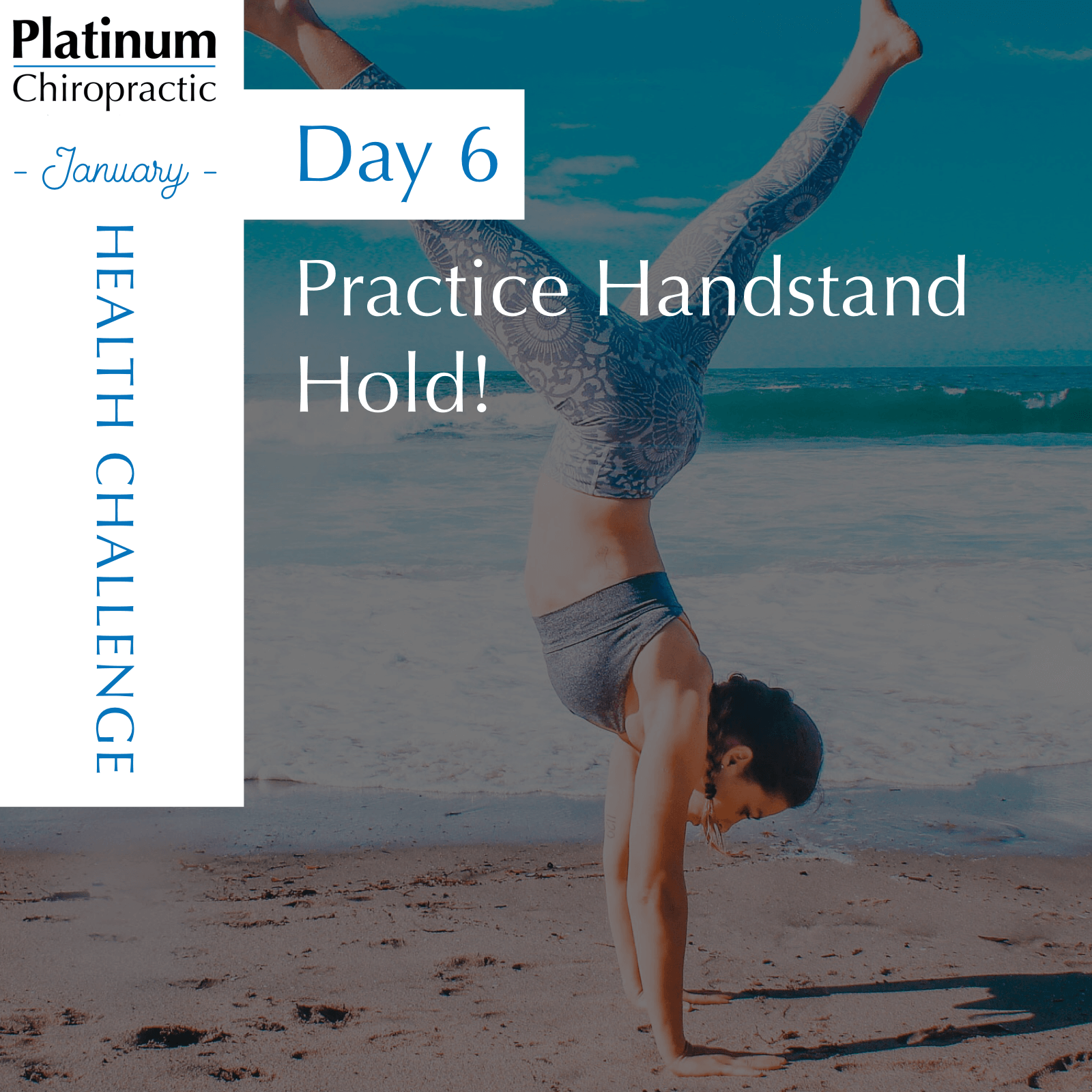 Practice Your Handstand Hold