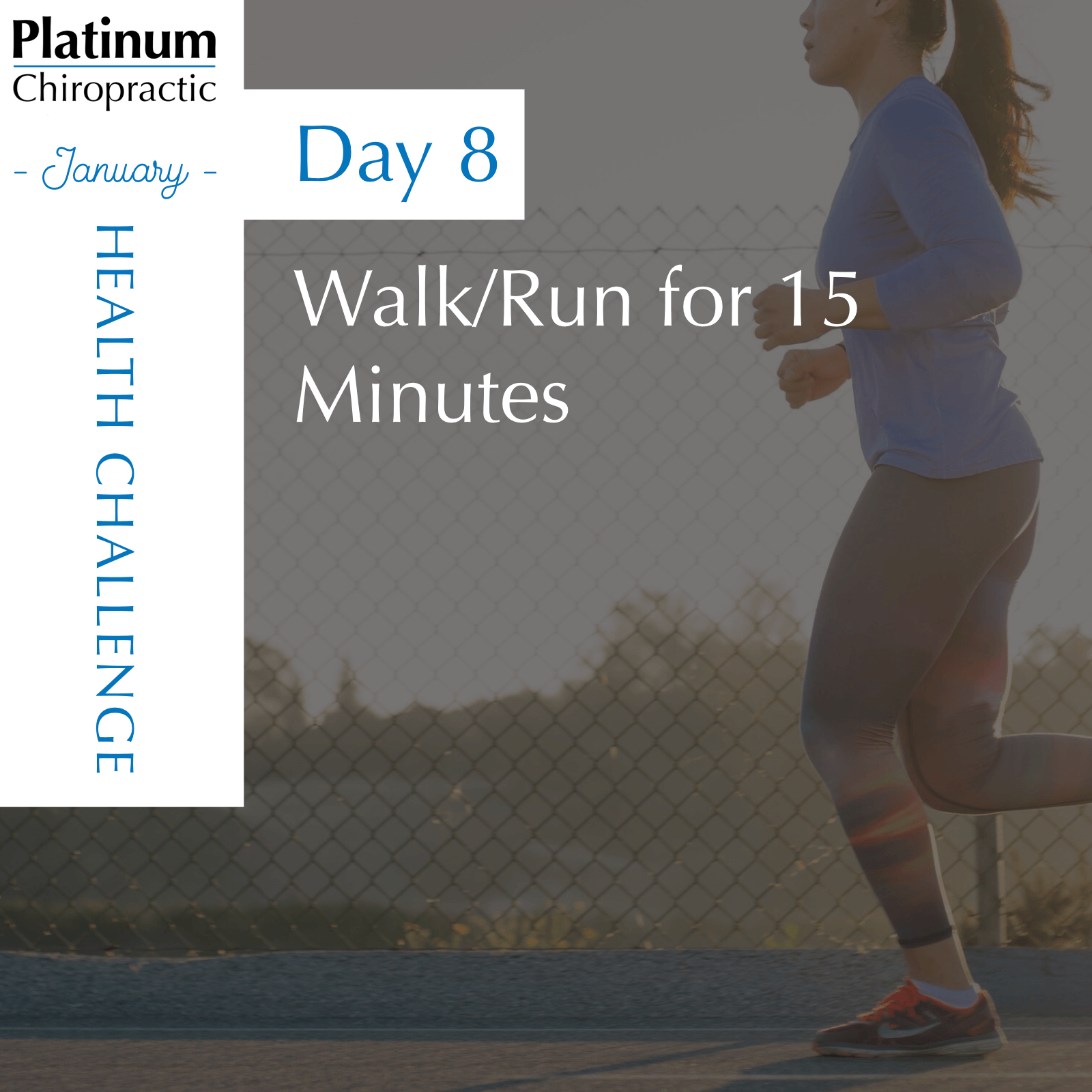 Walking/Running is a great way to get some exercise in, and its free!