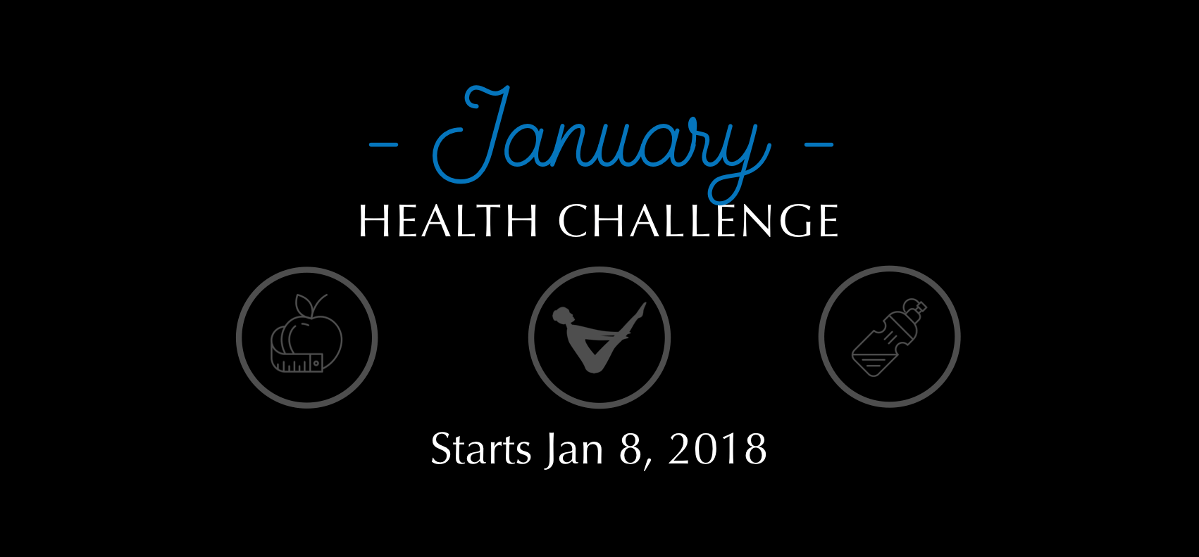 Beginning January 8th we will post daily challenges on our social media channels. Follow the directions and post on your social media channels with the hashtag #platinumchiropractic for your chance to win some pretty great prizes