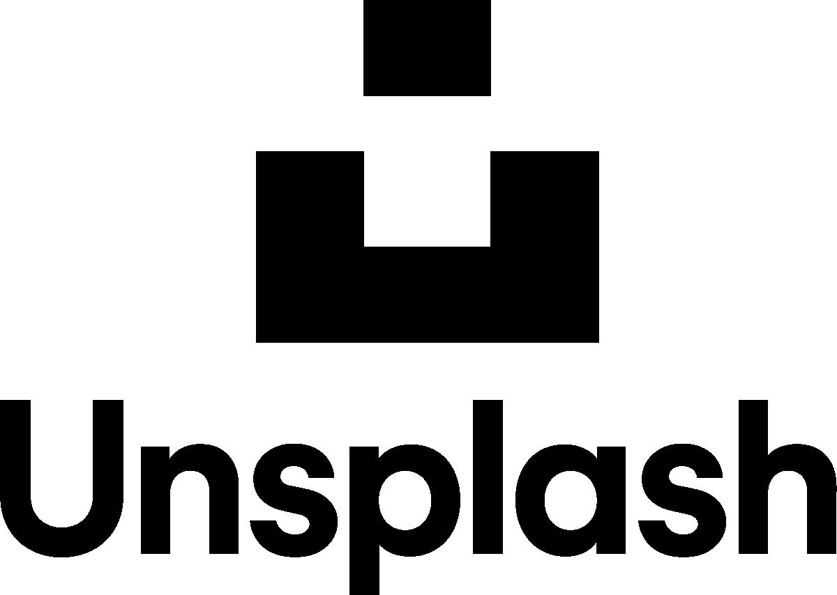 Unsplash image logo