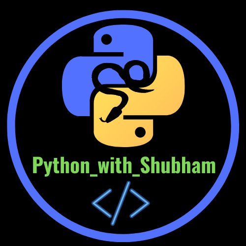 Follow me on Instagram @python_with_shubham