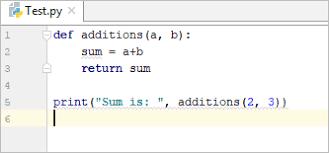 return statement example