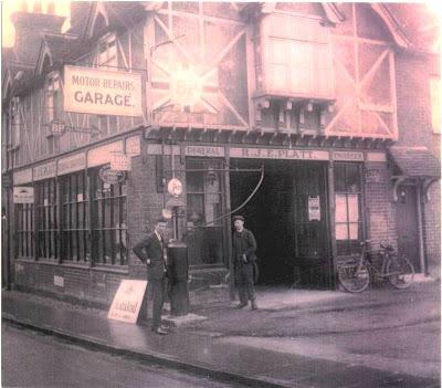 Platts Garage, Marlow, in about circa 1930