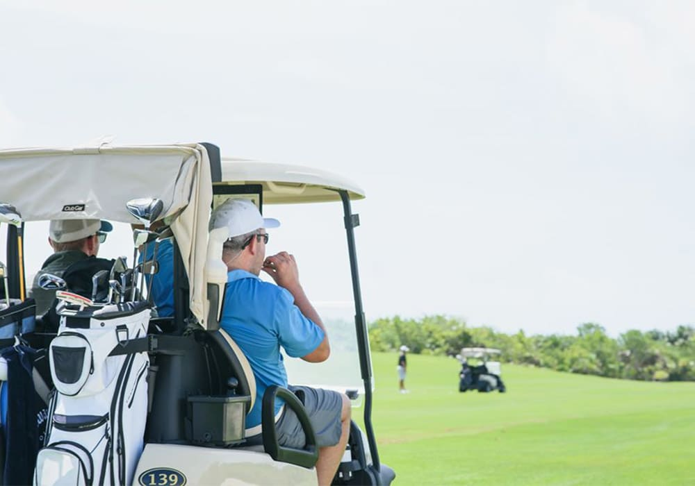 Club de Golf en Playa Mujeres