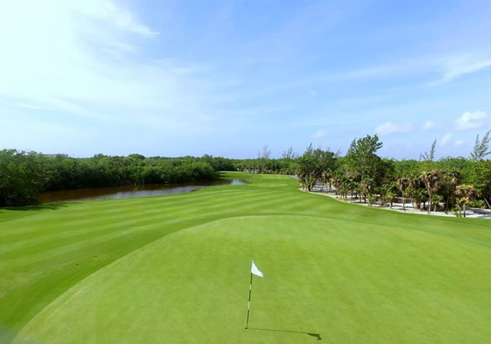 Campos de golf en Cancún