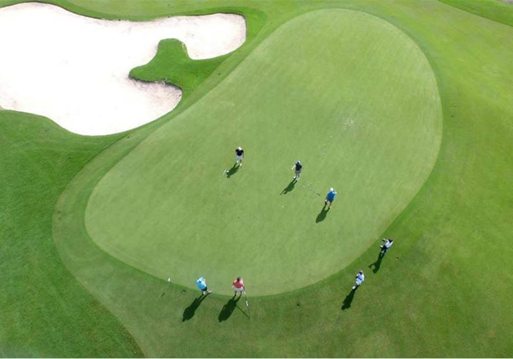 Campo de Golf en Playa Mujeres