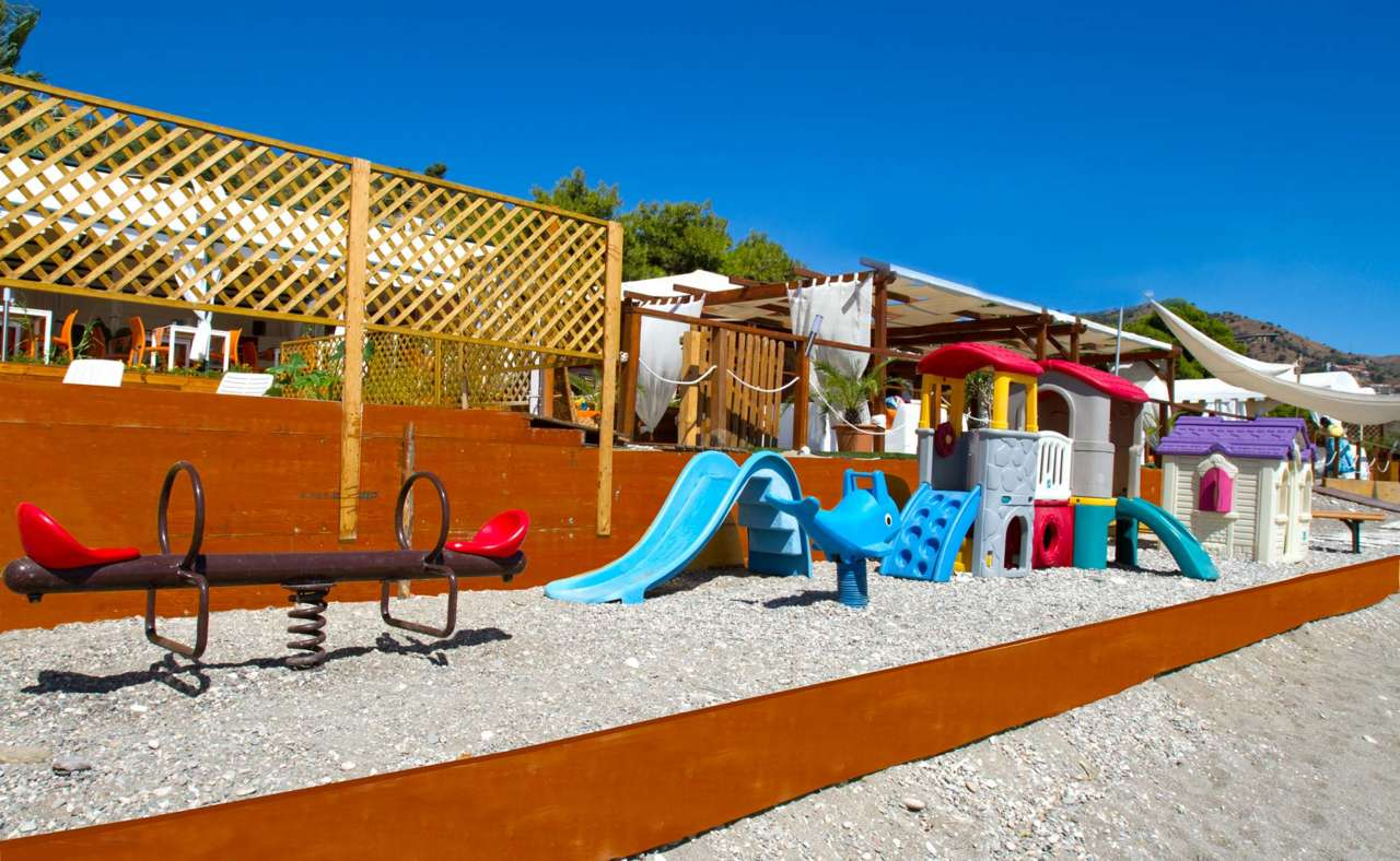 Area Giochi per bambini lido playa soleluna