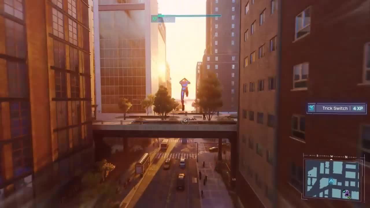 Человек-паук ps4 геймплей