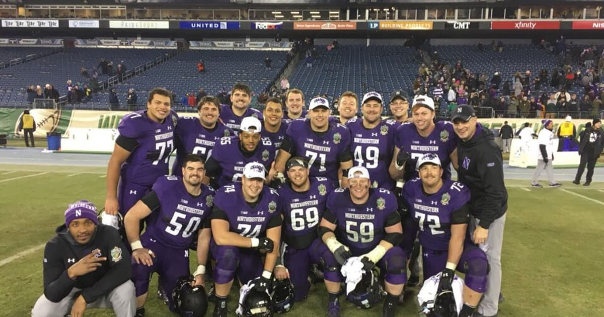 huge discount 4ecc8 c5d71 Northwestern Lift for Life 2018: Offensive Line - PledgeIt.org