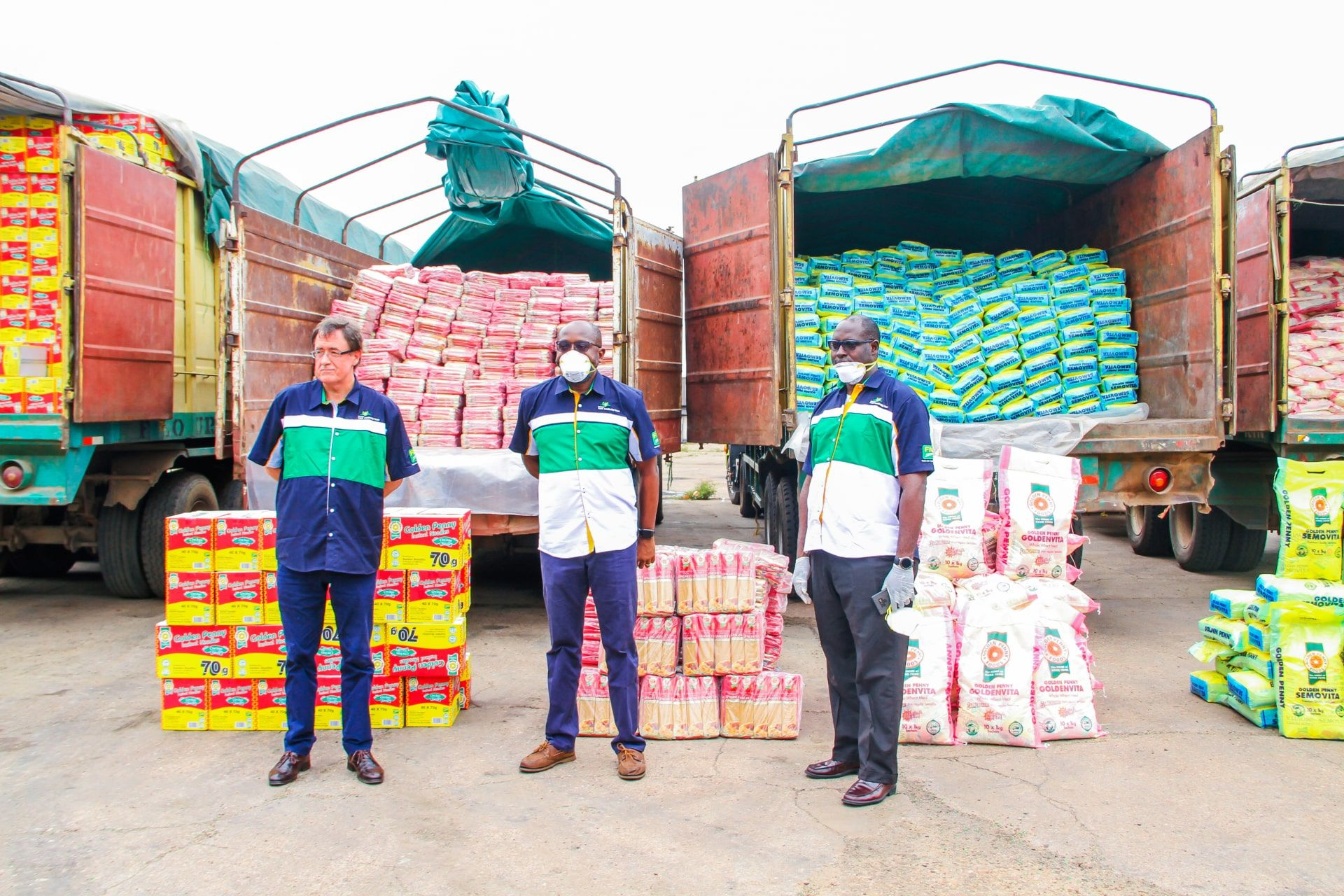 COVID 19 – FMN REITERATES ITS COMMITMENT TO FEEDING THE NATION, EVEN IN TOUGH TIMES. DONATES GOLDEN PENNY FOOD PRODUCTS ACROSS THE COUNTRY.